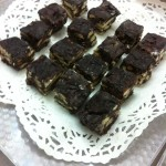 Cocoa Blocks with Petit Beurre chunks
